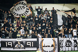 Black Gringos during Football match between NS Mura (SLO) and Maccabi Haifa (IZR) in First qualifying round of UEFA Europa League 2019/20, on July 18, 2019, in Stadium Fazanerija, Murska Sobota, Slovenia. Photo by Blaž Weindorfer / Sportida