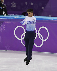 February 17, 2018 - Pyeongchang, KOREA - Daniel Samohin of Israel competing in the men's figure skating free skate program during the Pyeongchang 2018 Olympic Winter Games at Gangneung Ice Arena. (Credit Image: © David McIntyre via ZUMA Wire)