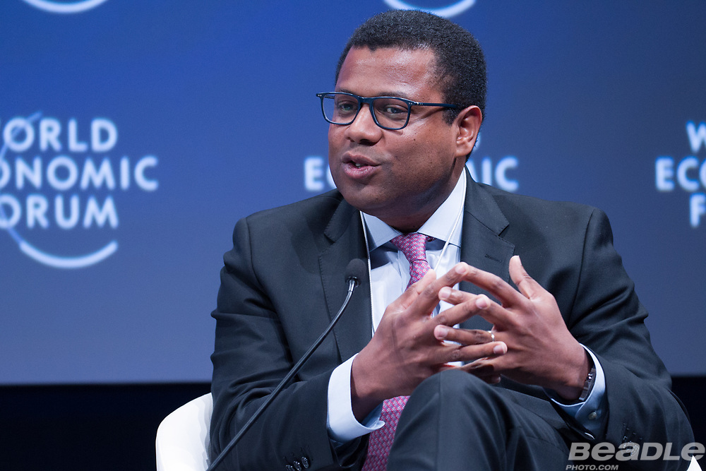 Thierry Déau, Chief Executive Officer<br /> Meridiam Infrastructure at the World Economic Forum on Africa 2017 in Durban, South Africa. Copyright by World Economic Forum / Greg Beadle