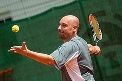 Bostjan Ogris, Drzavno prvenstvo novinarjev v tenisu 2019, on June 12, 2019 in Tivoli, Ljubljana, Slovenia. Photo by Vid Ponikvar / Sportida