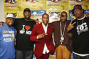 l tor: Teddy Ted(Awesome Two), Eric Sermon(EPMD), Raphael Saddiq, Slick Rick and Parrish Smith(EPMD) at The 2008 Black August Benefit Concert held at BB Kings on August 31, 2008..2008 begins the second decade of Black August Hip Hop Project benefit concerts which assist and support Political Prisoners. The Malcolm X Grassroots Movement is an organization whose mission is to defend the human rights of people and promote self-determination in our community.