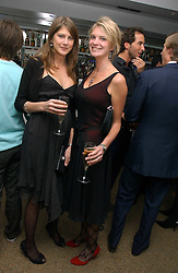 Left to right, sisters PRINCESS FLORENCE VON PREUSSEN and PRINCESS BEATRICE VON PREUSSEN at a party to celebrate the publication of Tatler's Little Black Book 2006 held at 24, 24 Kingley Street, London W1 on 9th November 2006.<br />