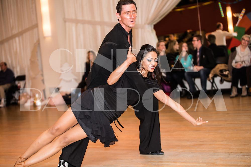 Eric and Aiyesha Dey