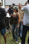 Rosie Perez at the Spike Lee's Brooklyn celebration for Michael Jackson's Birthday held at the Neader field in Prospect Park, Brooklyn on August 29, 2009..Filmmaker Spike Lee celebrates the ' King of Pop ' Birthday with a crowd packed party remembering the recently departing All time Great with a day long spinning of his music in Brooklyn's own Prospect Park