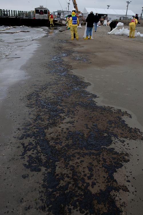 Texas City Oil Spill