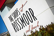 Signage of The Shops at Rossmoor in Seal Beach California