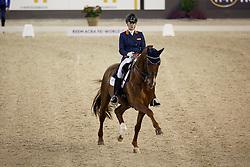 Witte - Vrees Madeleine, (NED), Cennin <br /> Indoor Brabant - 's Hertogenbosch 2016<br /> © Hippo Foto - Dirk Caremans<br /> 12/03/16