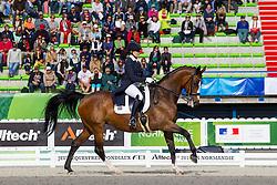 Nicole Smith, (RSA), Victoria - Grand Prix Team Competition Dressage - Alltech FEI World Equestrian Games™ 2014 - Normandy, France.<br /> © Hippo Foto Team - Leanjo de Koster<br /> 25/06/14