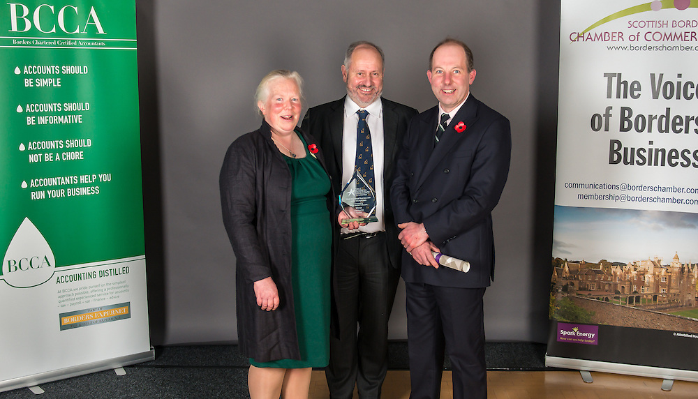 The 2016 Scottish Border Business  Excellence Awards, held at Springwood Hall, Kelso. The awards were run by the Scottish Borders Chambers of Commerce, with guest speaker Councillor Stuart Bell, BSC Executive Member for Economic Development.  The SBCC chairman Jack Clark and the presenter Fiona Armstrong co hosted the event.