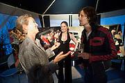 VANESSA BRANSON; ELEANOR LYNDSAY-FYNN; JAMIE RUSSELL, Eleanor Lyndsay-Fynn exhibition. What are you hoping to find? 168 Campden Hill Rd. LONDON. 2 SEPTEMBER 2009.