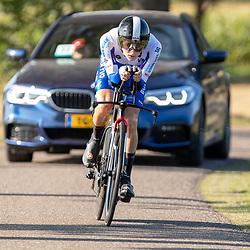 13-09-2020: Wielrennen: NK tijdrijden nieuwelingen en junioren: Chaam <br />Niels Luiten