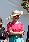 Henley-on-Thames. United Kingdom. Hats at Henley, 2017 Henley Royal Regatta, Henley Reach, River Thames. <br /> <br /> <br /> 15:04:50  Sunday  02/07/2017   <br /> <br /> [Mandatory Credit. Peter SPURRIER/Intersport Images.