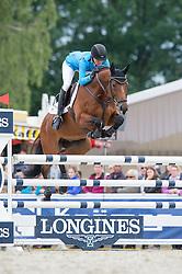 Klimke Ingrid, (GER), Horseware Hale Bob<br /> Jumping - CIC3* - Luhmuhlen 2016<br /> © Hippo Foto - Jon Stroud