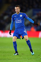 23 December 2017 -  Premier League - Leicester City v Manchester United - Jamie Vardy of Leicester City - Photo: Marc Atkins/Offside