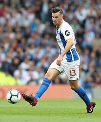 Brighton & Hove Albion's Pascal Gross during the Premier League match at the AMEX Stadium, Brighton.
