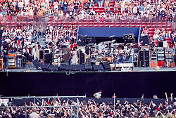 The Grateful Dead Live at Giants Stadium 02 September 1978. The Band on Stage performing.