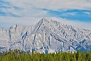 Mount Ishbel on the Sawback Range.<br />Banff National Park<br />Alberta<br />Canada