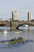 Boston, Massachusetts, USA. Afternoon  training session, on thursday 19/10/2006,  on the Charles River, Preparing for the 2006 Head of the Charles,  Photo  Peter Spurrier/Intersport Images...[Mandatory Credit, Peter Spurier/ Intersport Images] Rowing Course; Charles River. Boston. USA