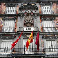 Europe, Spain, Madrid. Plaza Mayor, Madrid.