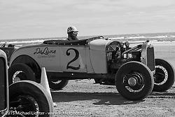 Bryan McCann of Denver, CO in his 1928 Roadster at Race of Gentlemen. Wildwood, NJ, USA. October 10, 2015.  Photography ©2015 Michael Lichter.