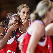 Netball. Women's Semi-Final. New Zealand v England.