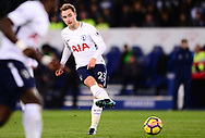Christian Eriksen of Tottenham Hotspur  in action .Premier league match, Leicester City v Tottenham Hotspur at the King Power Stadium in Leicester, Leicestershire on Tuesday 28th November 2017.<br /> pic by Bradley Collyer, Andrew Orchard sports photography.