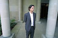 Director Roman Coppola pictured in Edinburgh before the UK premiere of his debut movie 'CG' at the Edinburgh International Film Festival tonight.