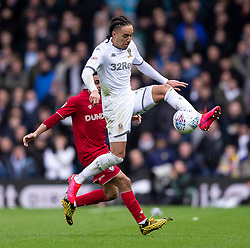 Jay Dasilva of Bristol City and Helder Costa of Leeds United - Mandatory by-line: Daniel Chesterton/JMP - 15/02/2020 - FOOTBALL - Elland Road - Leeds, England - Leeds United v Bristol City - Sky Bet Championship