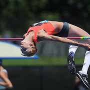 Iryna Kovalenko, Ukraine, in action during the Women's High Jump Competition at the Diamond League Adidas Grand Prix at Icahn Stadium, Randall's Island, Manhattan, New York, USA. 13th June 2015. Photo Tim Clayton
