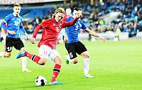 Fotball , 12. november 2014 , Privatkamp , Norge - Estland<br /> Norway -Estonia 0-1<br /> Per Egil Flo , Norge