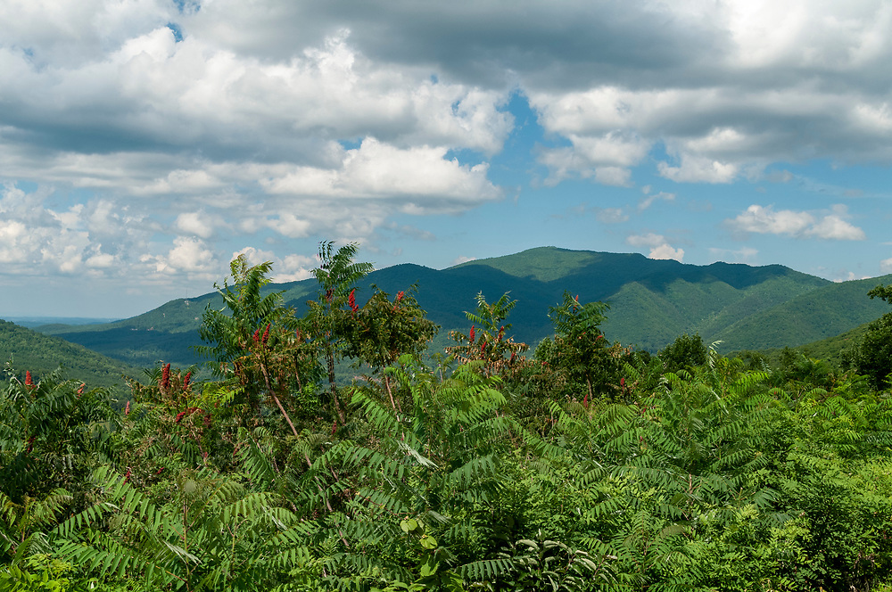 View of Stone Mountain at the Stone Mountain Overlook on the Foothills Parkway in Great Smoky Mountains National Park in Cosby, Tennessee on Tuesday, August 11, 2020. Copyright 2020 Jason Barnette