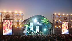 Palco Principal do Planeta Atlântida 2013/SC, que acontece nos dias 11 e 12 de janeiro no Sapiens Parque, em Florianópolis. FOTO: Jefferson Bernardes/Preview.com