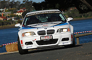 #876 - Ian Simpson & Greg Read - 2001 BMW M3.Prologue.George Town.Targa Tasmania 2010.27th of April 2010.(C) Joel Strickland Photographics.Use information: This image is intended for Editorial use only (e.g. news or commentary, print or electronic). Any commercial or promotional use requires additional clearance.