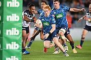 Finlay Christie.<br /> Blues v Brumbies, Sky Super Rugby Trans-Tasman. Eden Park, Auckland. New Zealand. Saturday 29 May 2021. © Copyright Photo: Andrew Cornaga / www.photosport.nz