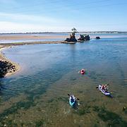 Kayakers of the Oregon Coast.