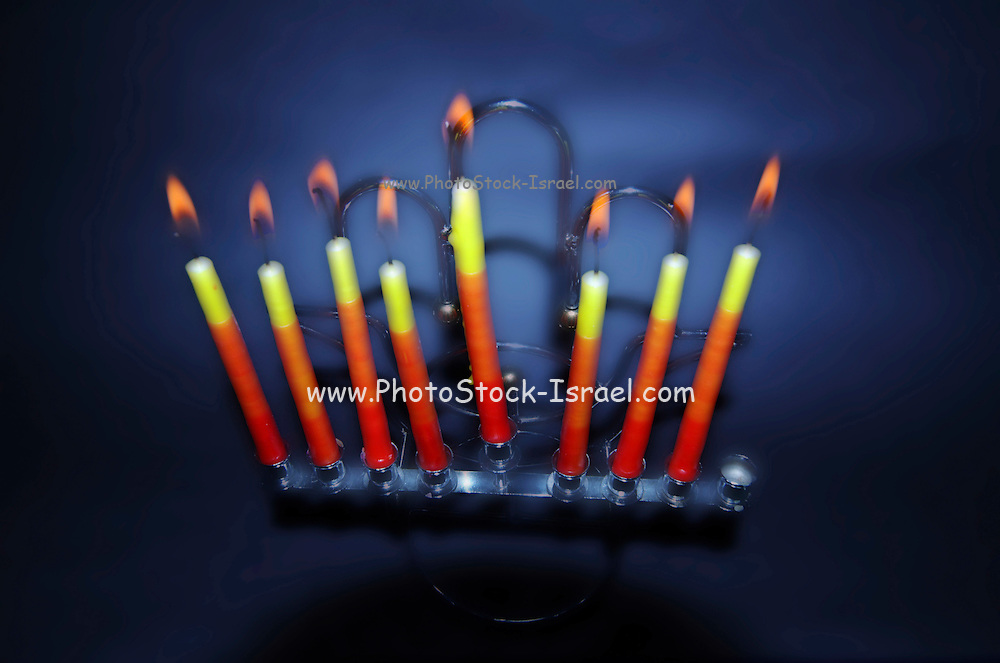 A Chanukia the main symbol of Chanukah, The Jewish festival of light