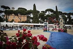 Mohammed Bassem Hassan, (QAT), Primeval Dejavu<br /> Piazza Di Siena - CSIO Roma 2015<br /> © Hippo Foto - Stefano Secchi