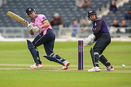 Joe Burns of Middlesex during the NatWest T20 Blast South Group match between Gloucestershire County Cricket Club and Middlesex County Cricket Club at the Bristol County Ground, Bristol, United Kingdom on 15 May 2015. Photo by Shane Healey.