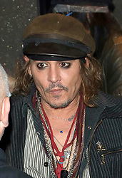 June 28, 2018 - Munich, Germany - Actor and musician Johnny Depp signed autographs for fans outside his hotel on June 27 2018 in Munich, Germany  (Credit Image: © Famous/Ace Pictures via ZUMA Press)
