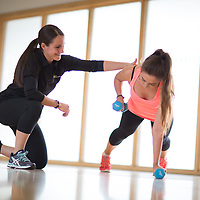 Brighouse - Your Personal Trainer shoot at Brighouse Fitness Centre