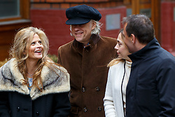 © Licensed to London News Pictures. 05/03/2016. London, UK. BOB GELDOF arriving at Rupert Murdoch and Jerry Hall's wedding ceremony at St Bride's Church in Fleet Street, London on Saturday, 5 March 2016. Photo credit: Tolga Akmen/LNP