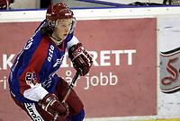 Ishockey<br /> GET-Ligaen<br /> 01.02.07<br /> Jordal Amfi<br /> Vålerenga VIF - Stjernen<br /> Debutant Jo Hegg<br /> Foto - Kasper Wikestad