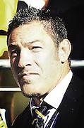 Hurricanes coach Mark Hammett during their Super Rugby match, Hurricanes v Cheetahs, Westpac stadium, Wellington, New Zealand. Saturday 31 March 2012.  PHOTO: Grant Down / photosport.co.nz