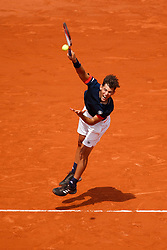 June 3, 2018 - Paris, U.S. - PARIS, FRANCE  - JUNE 03: DOMINIC THIEM (AUT) during the French Open on June 03, 2018, at Stade Roland-Garros in Paris, France.(Photo by Chaz Niell/Icon Sportswire) (Credit Image: © Chaz Niell/Icon SMI via ZUMA Press)