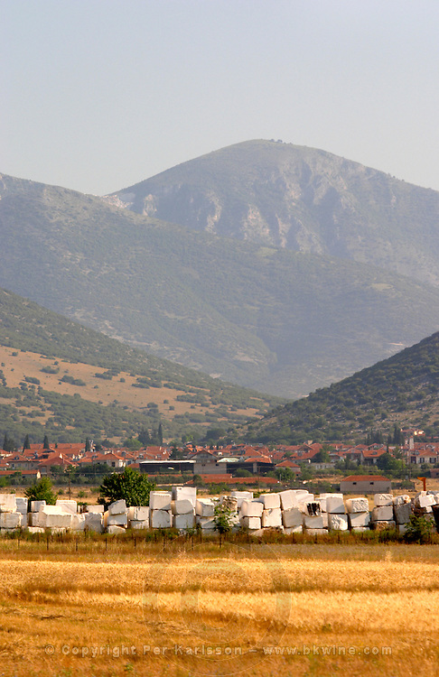 Marble quarry. Drama, Macedonia, Greece