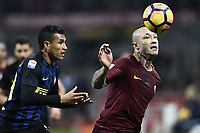 Radja Nainggolan, Jeison Murillo<br /> Milano 26-02-2017 Football Calcio serie A 2016/2017 Inter - AS Roma foto Image Sport/Insidefoto