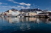 Cape Town V&A Waterfront with Table Mountain behind. Images by Greg Beadle