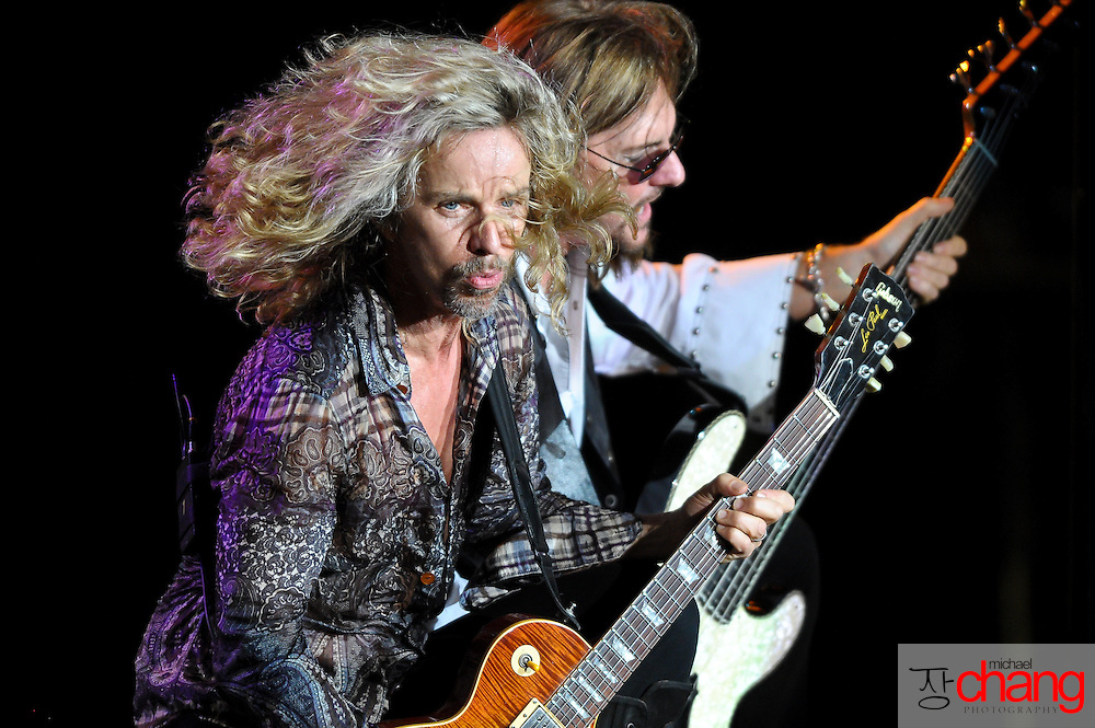 Styx performs live at The Wharf in Orange Beach, Alabama.