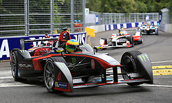 Venturi Racings Mike Conway during round ten of the FIA Formula E Championship at Battersea Park, London. PRESS ASSOCIATION Photo. Picture date: Sunday July 3, 2016. See PA story AUTO Formula E. Photo credit should read: Nigel French/PA Wire. RESTRICTIONS: Editorial use only, No commercial use without prior permission, please contact PA Images for further information: Tel: +44 (0) 115 8447447.