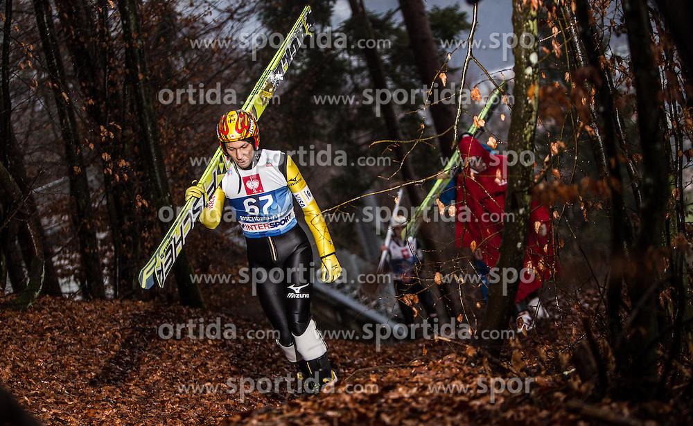 05.01.2014, Paul Ausserleitner Schanze, Bischofshofen, AUT, FIS Ski Sprung Weltcup, 62. Vierschanzentournee, Training, im Bild Noriaki Kasai (JPN) // Noriaki Kasai (JPN) during practice Jump of 62nd Four Hills Tournament of FIS Ski Jumping World Cup at the Paul Ausserleitner Schanze, Bischofshofen, Austria on 2014/01/05. EXPA Pictures © 2014, PhotoCredit: EXPA/ JFK
